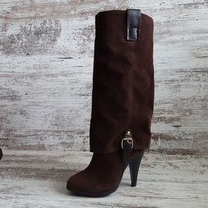 Brown Suede-like Rue 21 Boots
